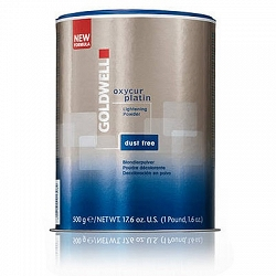 Goldwell Oxycur Platin Lightening Powder dust-free, rozjaśniacz w proszku